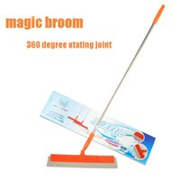 besom brooms - multifunction Magic Broom sweeper Dust Hair Bathrooms Wiper besom Brooms degree Rotate Connector Rubber Mop Cleaning Tools