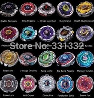 Wholesale style Beyblade Metal Fusion D set BB120 BB122 BB124 BB126 kids game toys children Christmas gift