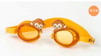 Wholesale Hot Sale Kids Cartoon Animal Swimming Goggles Child Boy Girl Water and fog proof Swim Accessories YJ296