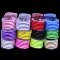 Wholesale 200pcs ft m USB Cable Nylon Braided Charger USB pin Connector Cable for android smart cell phone