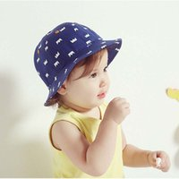 beanie visor blue - Baby Hat Children Caps Infant Boys Girls Crown Bucket Hat Kids Cap Spring Autumn Sun Hat Fashion Beanie Hat Caps Kids Hats Ciao C24783
