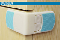 Wholesale Child safety lock drawer refrigerator lock baby safety buckle prevents children opening the drawer baby pinch hand protection