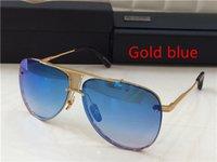 beach cases - New Dita Adecade Two Men Women Brand Sunglass Mirror Uv Len Top Quality Pilot Stlye Farme With Case