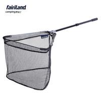 Wholesale 8Pcs Fairiland m cm large size aluminum frame connector telescopic handle fishing landing net fish brailer