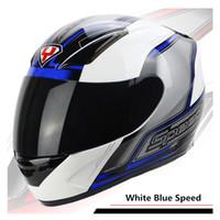 achat en gros de yohe casco moto-YOHE Marque Moto Hommes Casque de course Casque de moto Casque Moto Motocicleta Capacete Casco Moto ECE Approved