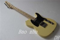 Wholesale electric guitar TL guitar yellow color oem electric guitar guitar in china