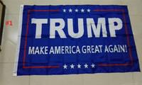 Wholesale 90x150cm BlueLine USA Police Flags x5 Foot Thin Blue Line USA Flag Black White And Blue American Flag trump flag B977