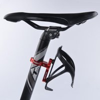 bicycle water bottle cage mount - 100 Brand New Bike Bicycle Cycling Outdoor Water Bottle Clamp Cage Holder Adapter Support Transition Socket Handlebar Mount
