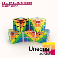 kids games and toys - 3x3 Rubik Cube Magic Cube Classic Toys Puzzle Magic Game Toy Adult and Children Educational Toys x3x3 Unequal Magic Cube kids gifts