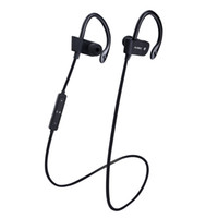 Wholesale 2016 New Portable Bluetooth Wireless Headphone Ear Hook Sports Headset With Microphone Waterproof Stereo Earphone For Cell Phone
