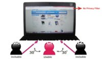 Wholesale 22 quot Inch WideScreen Privacy Filter For LCD Screen Desktop Computer Monitor LCD Monitors Cheap LCD Monitors