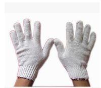 Wholesale Line work gloves wear non slip thick white gauze cotton labor all new code