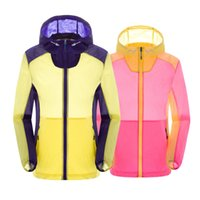Wholesale New Arrival Outdoor Waterproof Windproof Blue Men Quick Dry Running Jacket Ultralight UV Protection Fast Drying Ski Jacket
