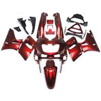 al por mayor carenado zzr-Carenados para Kawasaki ZZR400 ZZR-400 ZZR600 93 94 95 96 97 07 1993 - 2007 ABS Kit completo de carenado de moto Red Cowlings de perla