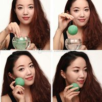 Wholesale Konnyaku Fiber Face Makeup Pad Cleaning Sponge Puff E00282 FAH