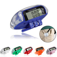 Wholesale LCD Multifunction Pedometer Walking Distance Calorie Calculation Counter F00037