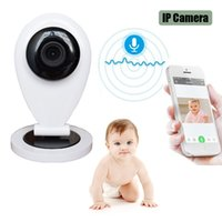 babysitter baby - HOT Wireless Wifi Video Baby Sleep Monitor With IP Camera Electronic Babysitter Nanny With Motion Detection Email Alarm Intercom