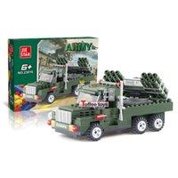 armed truck - Armed pickup truck Army Military Soldiers Tank Guns Building Blocks Bricks Minifigure Toys birthday present Christmas gift