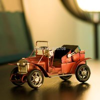 bathroom photography - 2014 Nostalgic retro car model metal crafts home ornaments country photography props