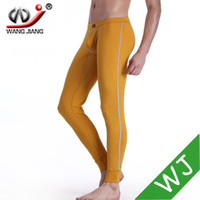 Wholesale mens sleep pants mens thin pajamas low rise sports pants men mens sleep bottom shorts gay bottom underwear pink comfy CKU