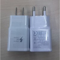 Wholesale 1 Quality Adaptive Fast Rapid Home Wall Charger For Samsung Galaxy S6 S6 Edge Note