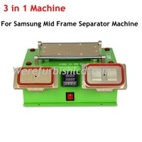 Wholesale 3 in LCD Separator Machine for iPhone Samsung manual LCD bezel mid frame separating machine Built in Vacuum Pump