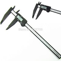 Wholesale mm quot Digital Electronic Caliper jaw long mm plastic digital caliper micrometer gauge mm