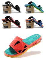 air slide fabric - Hot sale AIR LEBRON SLIDE ELITE top quality man basketball shoes sports shoes size eur