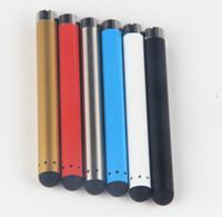 Cheap vaporizer pen o pen cartridge vape pen kit CE3 battery mini 510 slim bud touch open battery cbd hemp oil cartridge smoking pen e cig bud