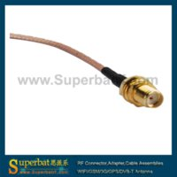 audio cables pigtails - GPS telematics or navigation cable Fakra Jack quot C quot to SMA Jack pigtail cable audio jack male male