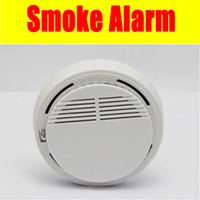 Wholesale 315 mhz wireless fire alarm smoke detector MHZ for home alarm system wireless smoke alarm smoking detecting device