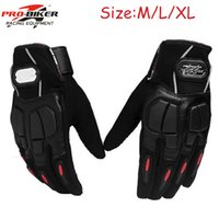 Wholesale 2015 Authentic Pro Biker Motocross Racing Suvs Luvas Motorcycle Auto Engine Protection Bicycle Cycling Gloves Outdoor Guantes