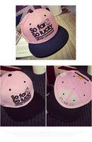 Wholesale Summer lady hip hop cap Korean spring flat shading along the male juvenile baseball cap hat student couples duck tongue tide