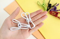 Wholesale Color multifunction portable travel towel drying racks socks clip clip sealing clip colorful pieces