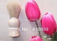 Wholesale NEW high quality Shaving Brush beard brush wood handle and bristle brush sponge