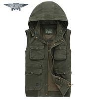 Wholesale Fall Summer New Outdoors Travels Sports Vest Tops Mesh Vest Plus Size M XL Photographer Vests Men Pockets Jacket jpzc8585