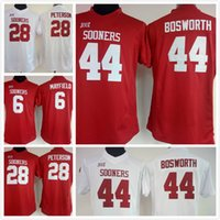 baker shirts - cheap women lady Brian Bosworth jersey Baker Mayfield Adrian Peterson youth kids Oklahoma Sooners College sport Football shirt