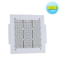 Wholesale 100w LED Flood Light K Daylight White IP65 Retrofit LED Gas Station Lights Led Garage Canopy Lighting