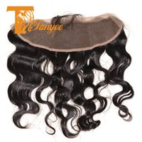 Wholesale 7A Brazilian Virgin Hair Body Wave Full Lace Frontal Closure Bleached Knots X4 Virgin Human Hair Ear To Ear Lace Frontal With Baby Hair