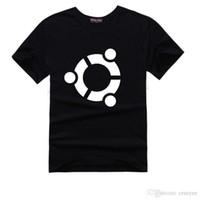 big cooper - Fashion The Big Bang Theory Sheldon Cooper t shirt Men Geek personality Ubuntu system logo print short sleeve casual t shirt