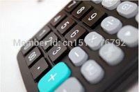 big free calculator - New General Purpose Calculator Two Power solar energy counter digit Big display with display steel