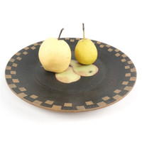 Wholesale 1pc Wood snacks Tray fruit dish Tea Oriental Plate Dish Platter Snack Plates inches nuturl tableware tray
