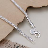 Wholesale pc Fashion Women plated Silver MM Snake Chain Bangle Bracelets Jewelry fine jewelry hot sale