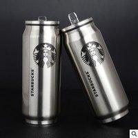 beverage mugs - 350 ML Coffee Cups Drinkware Starbucks Coffee Cups Stainless Steel Mugs Warm Cup Creative Beverage Water Glasses Drinking Mug Cups