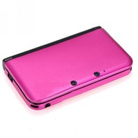 apple consoles - 1pc Protective Cover Game Consoles Protective Sleeve Aluminum Shell Cover Box Rose Red Purple Green