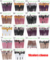 Wholesale 20Pc set Cosmetic Makeup Brushes Set Powder Foundation Eyeshadow Eyeliner Lip Brush Tool Brand Make Up Brushes beauty tools pincel maquiagem