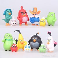 Wholesale 13pcs New movies Angry Birds Children Figures Toys Doll Furnishing Articles Toys Stuffed Animals Puppet