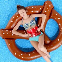 Wholesale People Water Inflatable Floating Bed Couch Inflatable Bed Swimming Adult Beach Bread Floating Row Coffee JF0019 kevinstyle