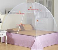 Wholesale 2016 Rio Olympic Same Type Easy Install Foldable Mosquito Net Zika Bed Tent Beds Net Mongolian Yurt Mosquito Net
