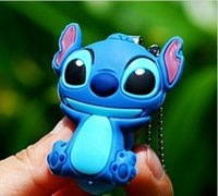 Wholesale Lilo Stitch Mini Nail Clipper Cutter Keychain Military Figures Bag Cell Phone Pendant Keychain Key Rings Children Adult Gifts cm HH C01